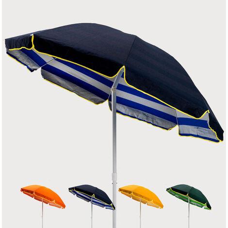 Sonnen Strandschirm Baumwolle stabil 200 cm TROPICANA