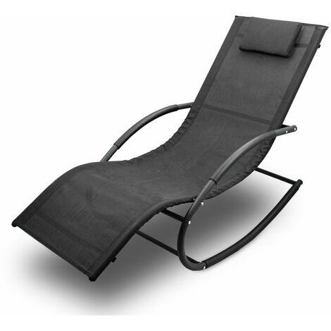 Sonnenliege Gartenliege Relaxliege Schaukelliege Liegestuhl Schaukelstuhl (1 Liege)