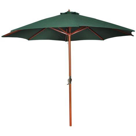 Sonnenschirm ∅ 300 cm grün