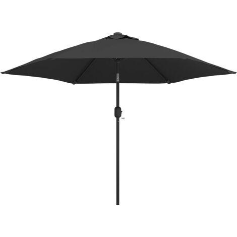 Sonnenschirm mit Metall-Mast 300 cm Anthrazit