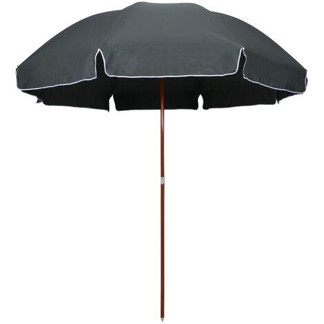 Sonnenschirm mit Stahlmast 300 cm Anthrazit