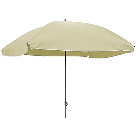 Sonnenschirm Rechteckig beige Polyester UV knickbar 150x200cm-M62447-Beige