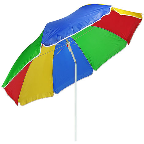 Sonnenschirm Regenbogenfarben 180cm-M62009