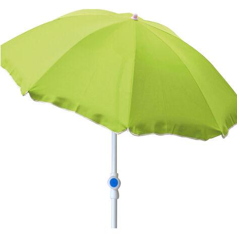 Sonnenschirm rund Ø2m grün Polyester-MMC200P-limegrün