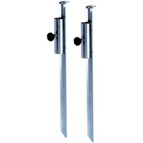 Sonnenschirmhalter # 2 Stück # für Schirme mit Ø 12-32mm
