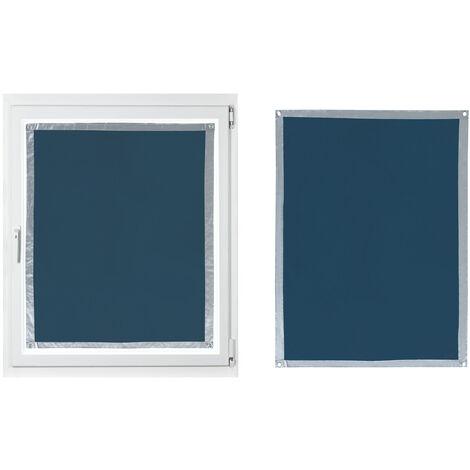 Sonnenschutz für Fenster, Blau, mit Saugnäpfen, verschiedene Maße