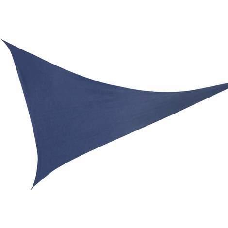 Sonnenschutz Sonnensegel Dreieck Blau 3,6m UV- Schutz