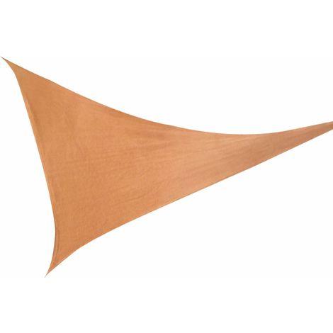 Sonnenschutz Sonnensegel Dreieck Terrakotta 3,6m UV- Schutz