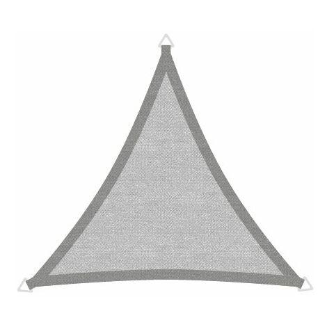 Sonnensegel Basic 3,6m Dreieck grau