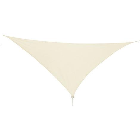 Sonnensegel Dreieck 3,6x3,6x3,6m mit Ösen Beige-DMC2018-beige-drop