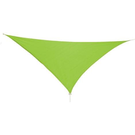 Sonnensegel Dreieck 3,6x3,6x3,6m mit Ösen Beige-DMC2018-grün