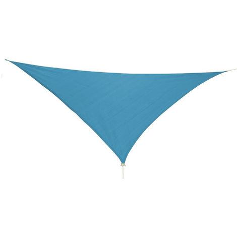 Sonnensegel Dreieck 3,6x3,6x3,6m mit Ösen Beige-DMC2018-petrol