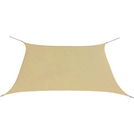weit verbreitet am besten einkaufen Auschecken Sonnensegel Oxfordgewebe Quadratisch 2 x 2 m Beige -
