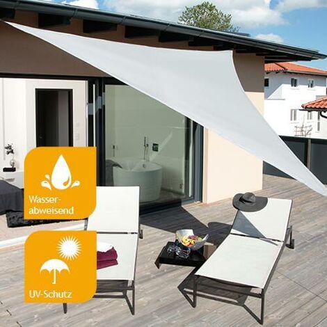 Sonnensegel Premium 3,6m Dreieck silber