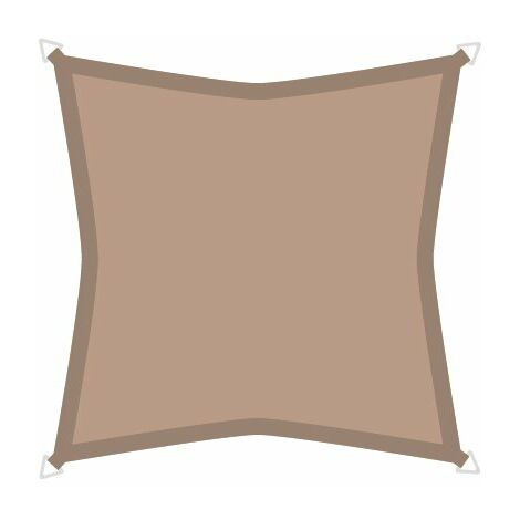 Sonnensegel Premium 3,6m Dreieck taupe