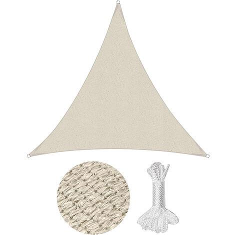 Sonnensegel Sonnenschutzsegel Sonnenschutz Dreiecke HDPE