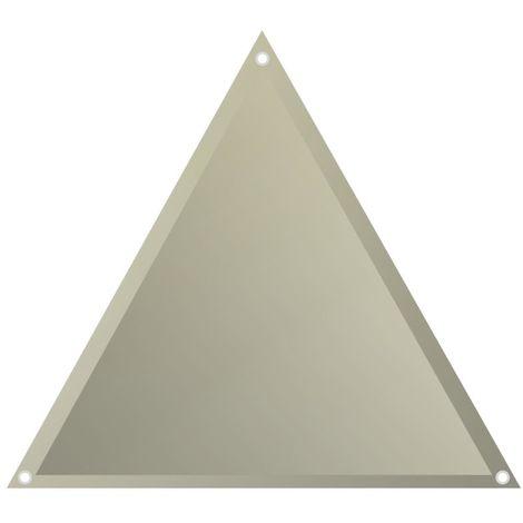 Sonnensegel 'Voile d'ombrage' 3,6m Dreieck beige
