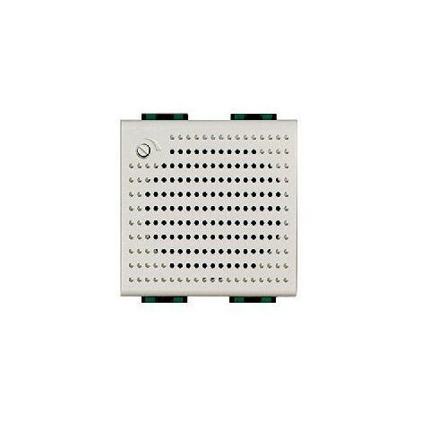 Sonnerie BUS 2 fils supplémentaire encastrée Livinglight Blanc BTICINO 346982
