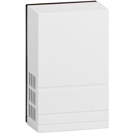 Sonnerie Lido - 230 V~ - direct 50/60 Hz - classe II - blanc