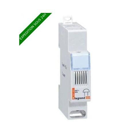 Sonnerie modulaire 230V - 83 dB - 1 module - Legrand