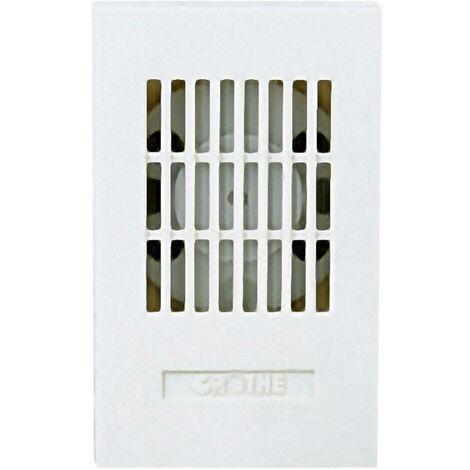 Sonnette Grothe LTW 1171A 12V AC 24082 blanc 85 dB (A)