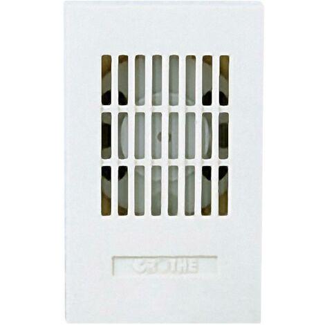 Sonnette Grothe LTW 1171A 24V AC 24083 blanc 85 dB (A)