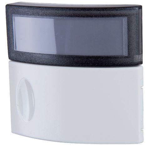 Sonnette Salsa bouton-poussoir avec porte-étiquette IP44 IK06 - Legrand