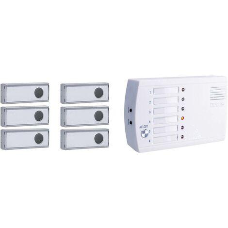 Sonnette sans fil m-e modern-electronics FRS-106.1 FRS-106.1 Système dappel radio 1 set