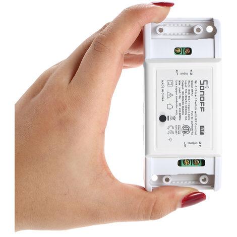 SONOFF, 433MHz Interruptor inalambrico Wifi, Modulo de automatizacion del hogar inteligente