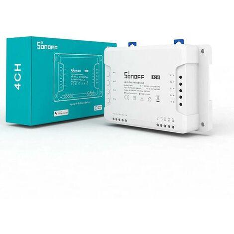 SONOFF 4CH Interruptor WiFi de 4 canales 10A para Smart Home