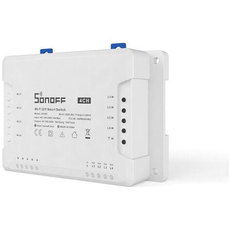 Sonoff 4CH R2 wi-fi smart switch 4 canali interruttore elettronico 4 Gang
