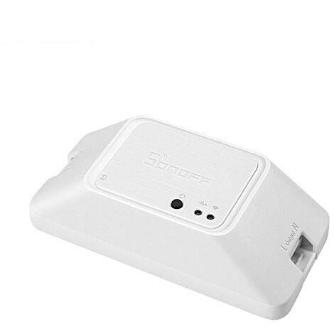SONOFF-BASIC R3 intelligent marche/arr¨ºt minuterie d'interrupteur WiFi prend en charge le mode bricolage APP/LAN/t¨¦l¨¦commande vocale