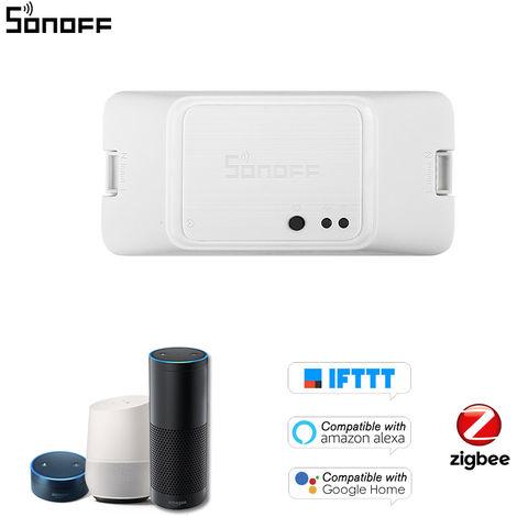 SONOFF BASICZBR3 Zigbee DIY Smart Switch inalambrico remoto Modulo de Interruptores de control compatible con Alexa SmartThings cubo para el hogar inteligente