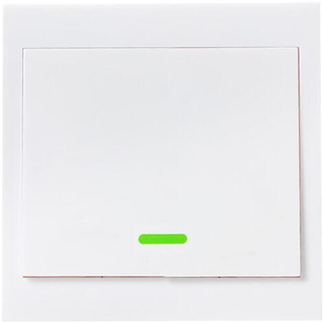 SONOFF, control remoto con interruptor de luz de boton, tipo de una cuadrilla 86