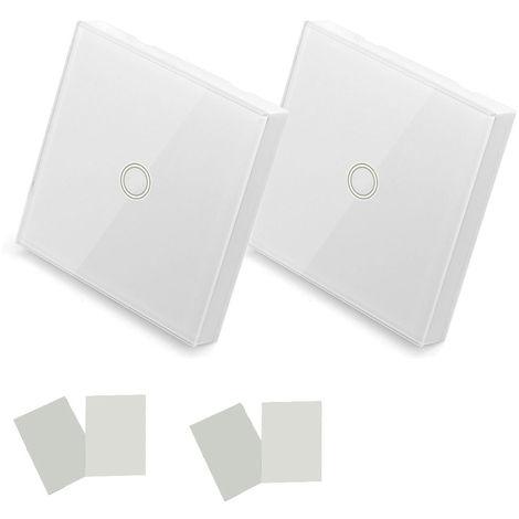 Sonoff, control remoto de panel tactil inteligente unico de 433 MHz, 2 piezas
