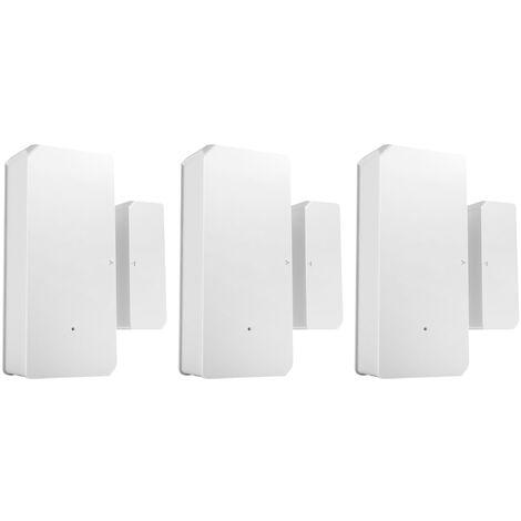 Sonoff Dw2-Rf-433Mhz Capteurs D'Alarme De Capteur De Porte Sans Fil, Installe Trois