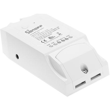 SONOFF, interruptor inteligente WIFI de 2 canales, modulo de automatizacion, 100-240V CA
