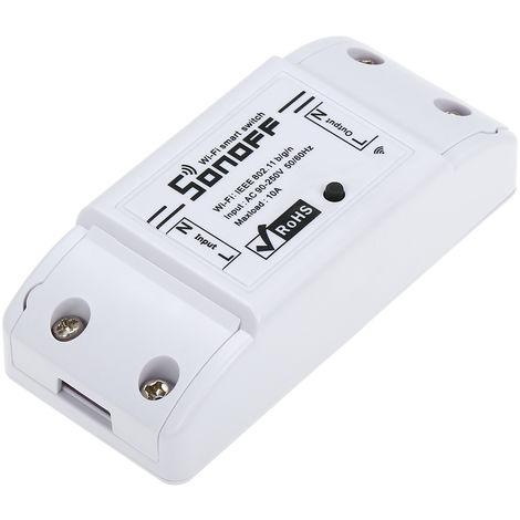 SONOFF, Interruptor Wifi, para Alexa para Google Home Timer, 10A / 2200W,3 piezas