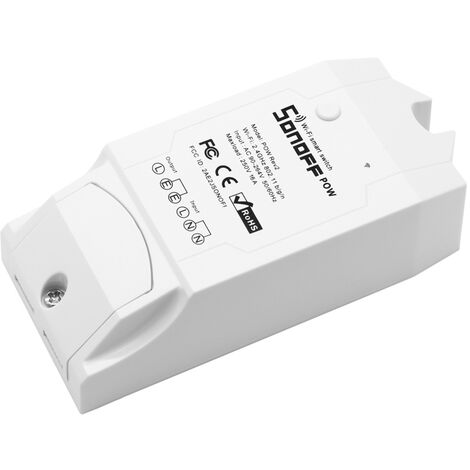 SONOFF POW R2 Interruptor Control remoto Control remoto Panel WiFi Interruptor táctil inteligente AC90-250V 16A 3500W