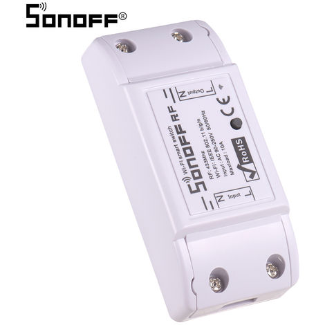 Sonoff, RF WiFi Smart Switch, Smart Wireless Home Wifi mando a distancia, Control de APP