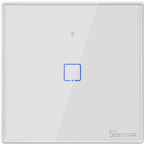 SONOFF, Smart Touch Interruptor de pared, 1 cuadrilla, 433 Control remoto RF / APP