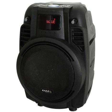 Sonorisation portable 16 cm USB carte mémoire REC bluetooth & VHF POWER6-PORT-B