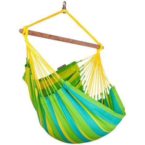 Sonrisa Lime - Chaise-hamac basic outdoor