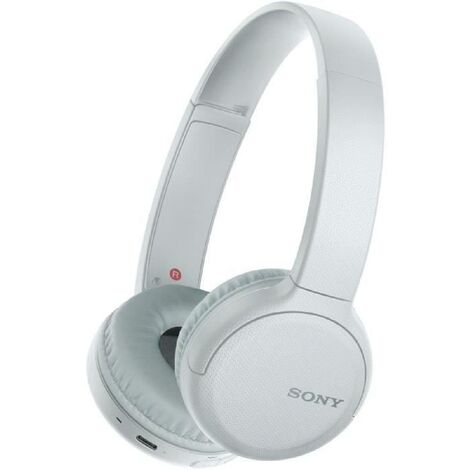 SONY WHCH510W Casque Bluetooth sans fil - Autonomie 35h - Blanc