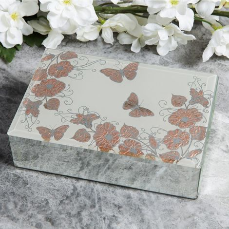 Sophia Rose Gold Collection Jewellery Box