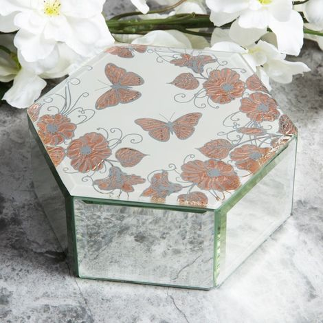 Sophia Rose Gold Collection Trinket Box