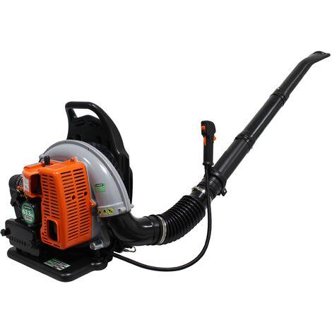 Soplador 63,3cc a gasolina c/mochila -216 km/h - MADER®