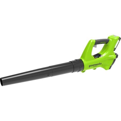 Soplador a batería Greenworks de 24 V G24AB (No incluye batería ni cargador)