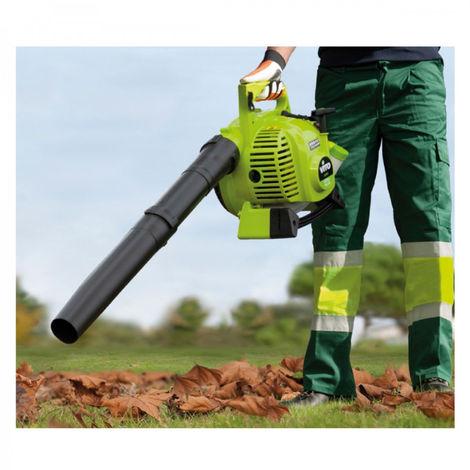 Soplador de hojas con motor térmico de 2 tiempos 27.2 cm3 VITOGARDEN Aspirador con soplador Espacios verdes SAC 50L