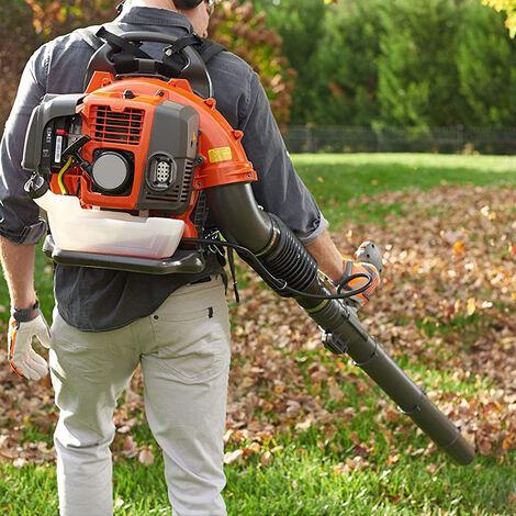 Soplador de hojas gasolina de la mochila 65cc 2100w gasolina del ventilador de la hoja para la eficacia del trabajo